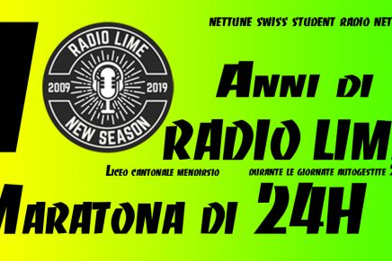 Anniversario Radio LiMe 10 Anni 2009/2019 – Maratona Live 24 Ore